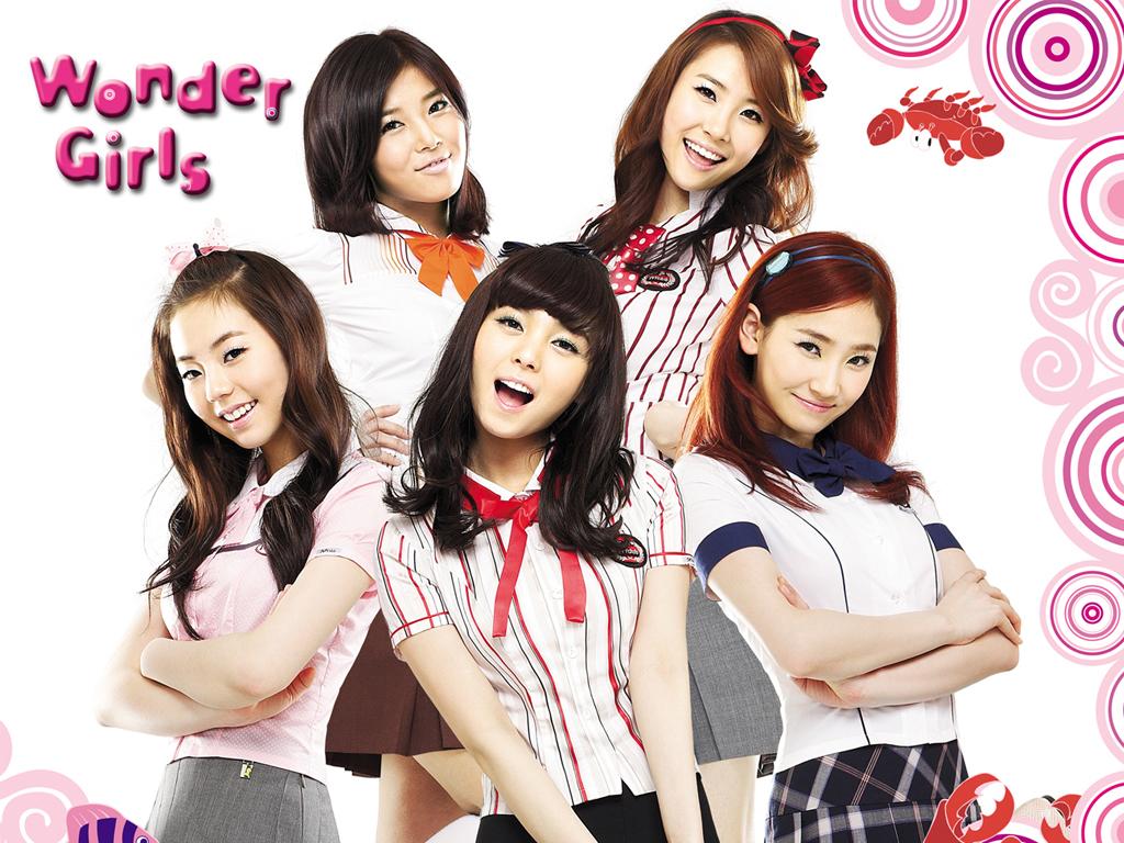 wallpaper wonder girls asian
